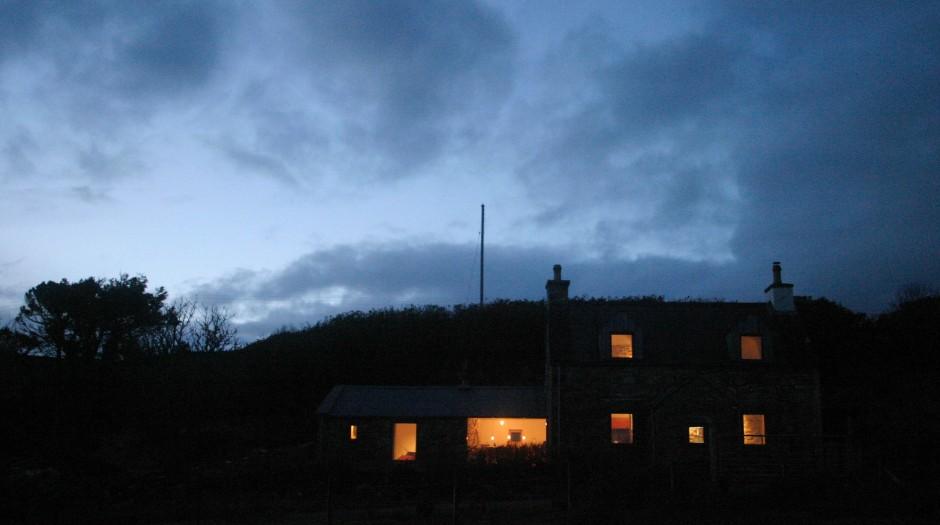 Dark and moody evening shot
